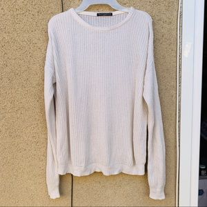 Brandy Melville knit sweater one size
